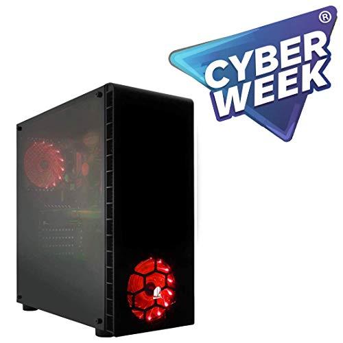 CPU: RYZEN 3 2200G 3,70 GHZ (Turbo) x 4 núcleos / Placa base Chip AM4 A320 DDR4 GRÁFICA: AMD VEGA 2GB (integrada CPU) RAM: 16 Gb (8 GB X 2) 2400 MHZ SSD: 240 GB + HDD: 1 TB SATA 6 GB/S * Producto 100% Español* Windows 10 de 64 bits versión preliminar...