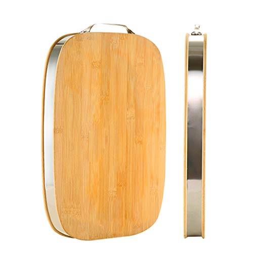 Planche à découper à usages multiples for la cuisine de ménage épaissie planche à découper de 38 cm 38 * 28 * 3,4 cm Planche à Découper