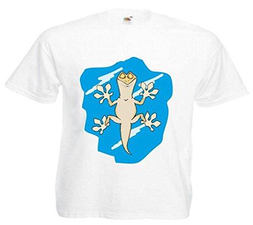 Damen T-Shirt Motiv 10583 Farbe Weiß Größe S