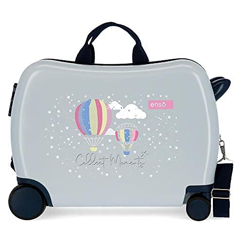 Enso Collect Moments Valigia per bambini Multicolore 50x38x20 cms Rigida ABS Chiusura a combinazione numerica 34L 2,1Kgs 4 Ruote Bagaglio a mano