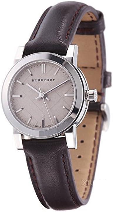 BURBERRY BU9208 - Reloj para Mujeres, Correa de Cuero Color marrón