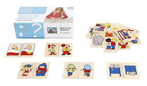 Toys for Life   was ist das Gegenteil?   Lehrmaterialien Lesen & Schreiben   Sprache   Ab 36 Monate   Bis 72 Monate