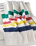 Hudson Bay 3.5 Point Twin Size Blanket - Multistripe