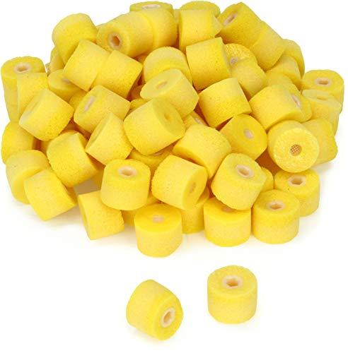 Shure Ohrpolster für SE/E-Kopfhörer (nicht für SE102/E2C), Gelb, 100 Stück