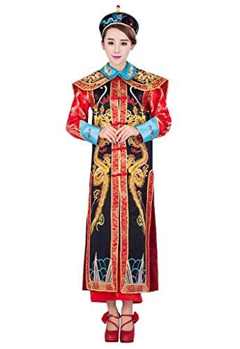 springcos Cosplay Fancy Dress Women Chinese Costume Empress Consort Dragon