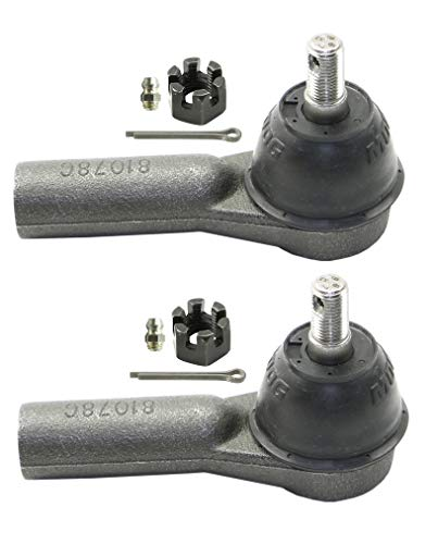 Pair Set of 2 Outer Steering Tie Rod Ends for Ford Escape Mazda Mercury