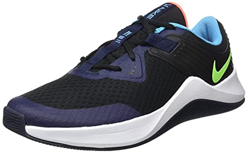 Nike Mc Trainer Sportschuhe Herren Schwarz/Blau/Gelb - 47 1/2 - Multisportschuhe Shoes