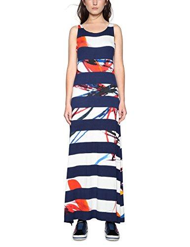 Desigual Damen Vest_Felipe Kleid, Blau (Navy 5000), XL