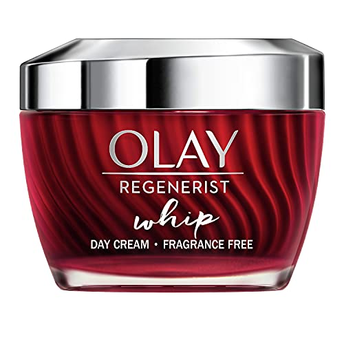 OLAY Regenerist Whip Tagescreme Parfümfrei | 50ml | Federleichte Feuchtigkeitscreme Für Straffere...