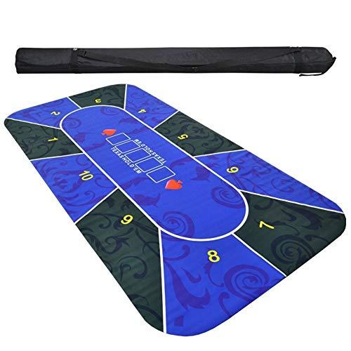 TX Girl Texas Hold'em rubberen mat tafelkleed poker tafelset digitaal geprint veloursleder poker blackjack presentaties accessoires poker 2,4 m