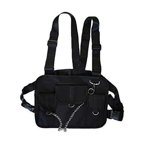 Kylewo Brusttasche für Funkgeräte, Radio Walkie Talkie Brusttasche Harness Taschen-Pack Rucksack