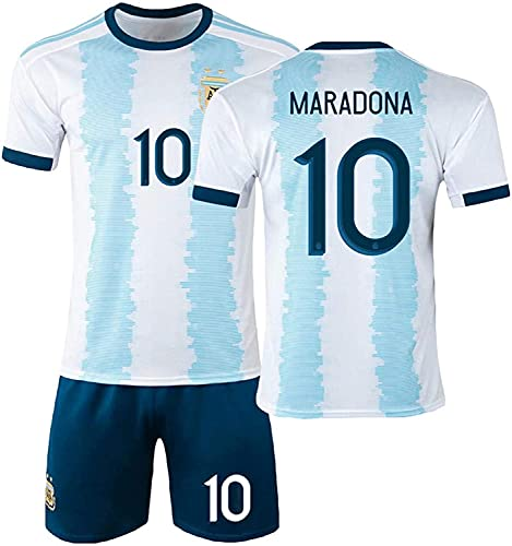 SXMY Camiseta De Visitante 2020 Mǎrǎdǒnǎ Camiseta De Fútbol De Argentina Traje...