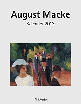 August Macke 2013. Kunstkarten-Einsteckkalender