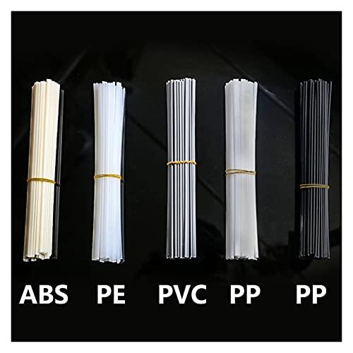 10 unids Barras de soldadura de plástico ABS / PP / PVC / PE Soldando palitos de soldadura 5x2mm para la soldadora de plástico Pistola de parachoques para parachoques suministros de soldadura Barras d