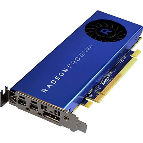 AMD 100-506001 - Tarjeta gráfica (Radeon Pro WX 2100, 2 GB, GDDR5, 64 bit, 3840 x 2160 Pixeles, PCI Express x16 3.0)
