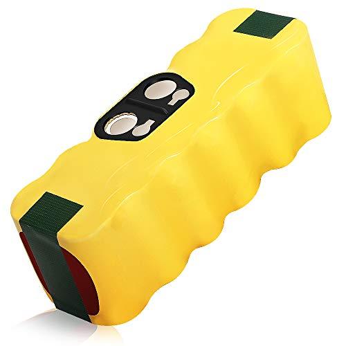 Bsioff 14.4V 4500mAh Ni-MH Ersatzskkus kompatibel mit Staubsauger akku iRobot Roomba 500 600 700 800