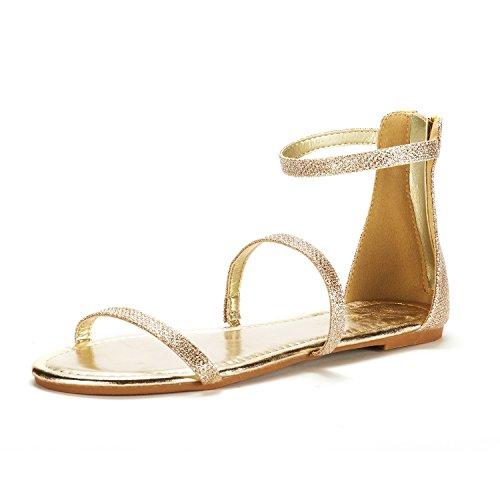05 Gold Women Sandal - 7