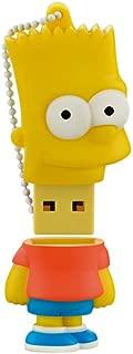 Pen Drive Bart Simpsons 8GB USB Leitura 10MB/s e Gravação 3MB/s Multilaser - PD071