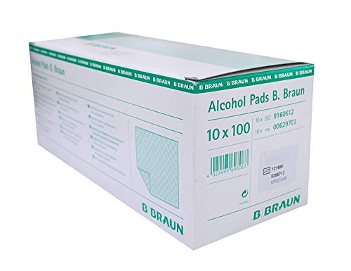 Alcohol Pads B. Braun Alkoholtupfer 10 x 100 St.