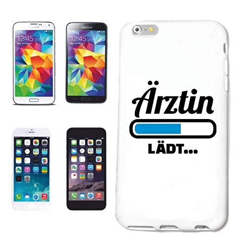 Reifen-Markt Funda para teléfono móvil compatible con HTC M8 barra de carga ÄRZTIN Loading Carga DOKTORIN Hospital Klinik Hard Cover Smart Cover