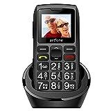 Teléfonos Móviles para Mayores con Teclas Grandes, artfone C1 Senior, Fácil de Usar Celular para...