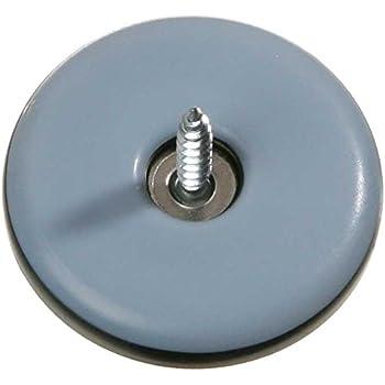 SBS Protectores de fieltro 100 unidades, hierro con tornillo, 20 mm