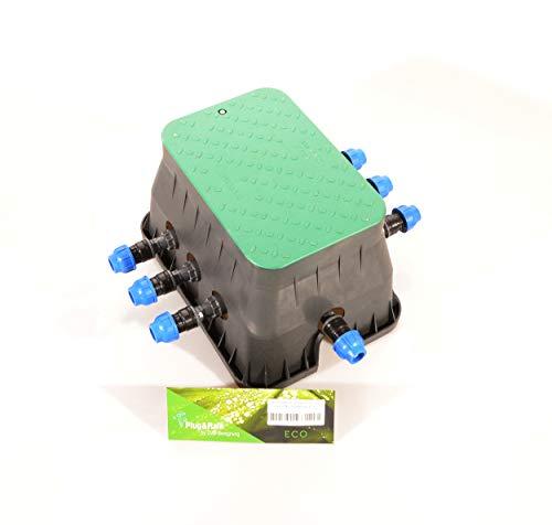 "Plug&Rain 6er-Ventilbox Hunter PGV, 25 mm (3/4"") Eco"