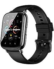 2021最新版 智能手表 搭載應用GPS功能 1.69英寸大屏幕 天氣預報 多運動模式 smart watch 全觸摸屏 來電/APP通知 畫面亮度調整 ip67防水 手表 男女通用 生日 支持iPhone/安卓 日語使用說明書