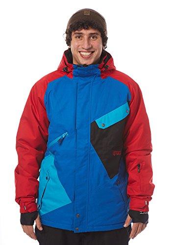 Light Veste pour Homme Box-vêtement d'extérieur L Bleu - Imperial Blue/Red