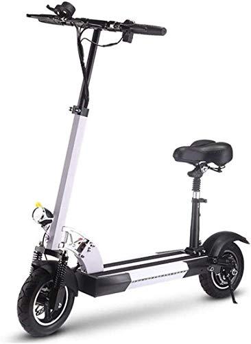 Bicicletas Eléctricas, Bicicletas eléctricas rápidas for adultos Kick Scooter eléctrico con asiento...
