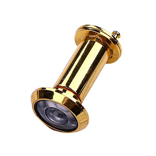Visor de mirilla gran angular para puerta de segur Puerta Visor de 220 grados 16 mm de aleación de sabotaje ajustable Seguridad for el Hogar cámara óptica casa de cristal antirrobo Ojo video de la pue