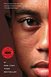 Tiger Woods on Book Cover