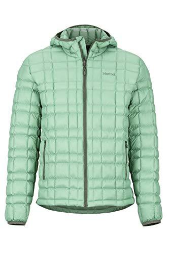 Marmot Sweat à capuche sans plumes pour homme Vert étang Taille XL