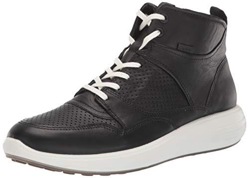 ECCO Damen Soft 7 Runner Sneaker Stiefelette, Schwarz, 39/39.5 EU