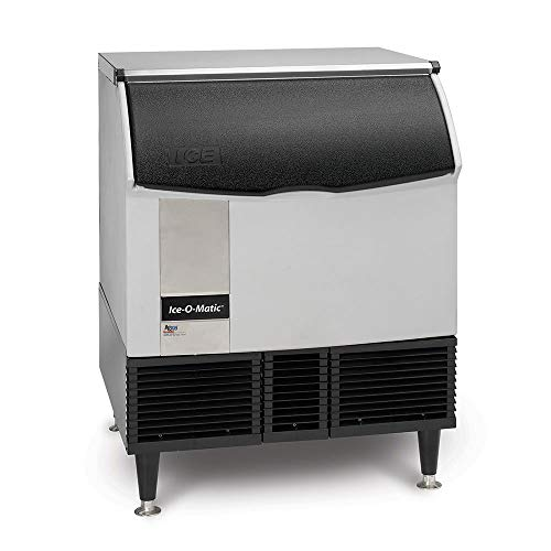 Ice-O-Matic ICEU300HA ICE Series Undercounter Half-Dice Ice Machine with Bin, 309-Pound, NSF