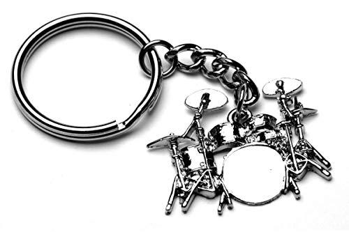 Schlagzeug Schlüsselring - Tolles Trommellehrer Musikleherer Geschenk