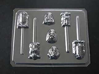Star Wonders Wars Assorted Chocolate Candy Lollipop Mold