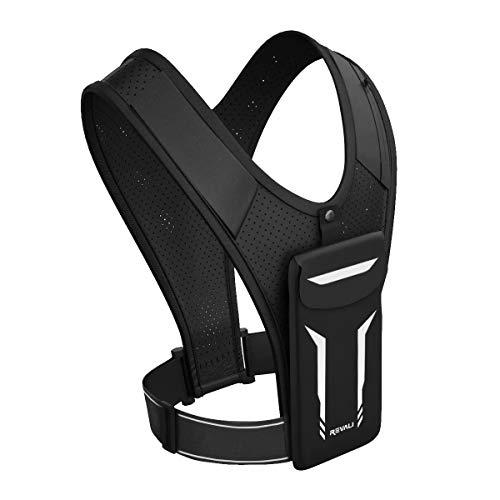 Running Vest, REVALI USA Original Patent, USA Designed, USA Warranty Reflective Running Vest Gear for Men and Women