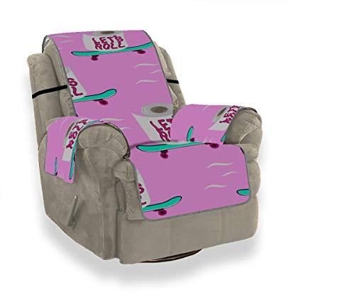 JIUCHUAN Fashion Create Life Supplies Roll Papierkissen Sofabezug Schonbezug für Ohrensessel Schonbezüge für Stühle 21