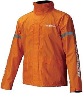 コミネ KOMINE バイク レインスーツ STD レインウェア GTX スプリーム レインウェア 雨具 防水 カッパ オレンジ M 03-543 RK-543