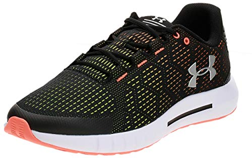 Under Armour Men's Micro G Pursuit SE Running Shoe, Black (001)/White, 9.5