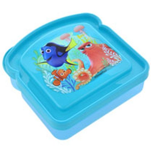 Disney Finding Dory Bread Shaped Sandwich Container (3 Pack)