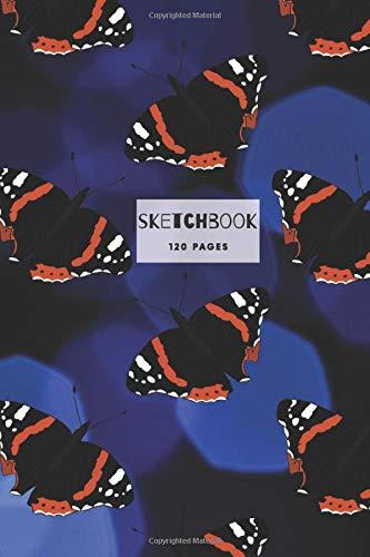 Butterfly Sketchbook: 6