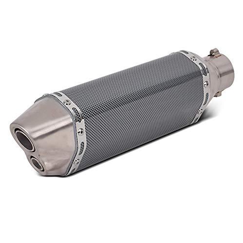 Auspuff Flap für Honda CB 1300 / S Schalldämpfer Edelstahl Carbon Look