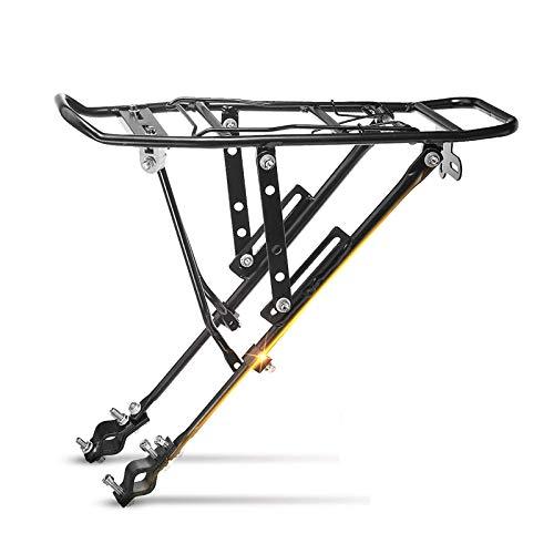 PQXOER Portaequipajes traseros para bicicleta de montaña, 25 kg
