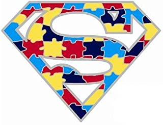 Wristbands Online Autismo Superman Awareness Pin de solapa
