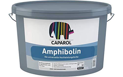 Caparol Amphibolin E.L.F. Fassaden- und Innenfarbe weiß 12,5 L