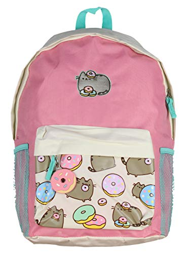Pusheen Character All Over Print Rucksack-Kollektion, Donuts (Pink) - unknown