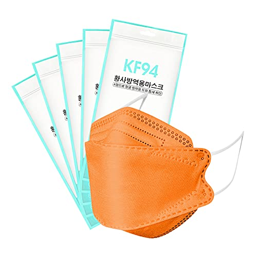 50/100Pcs KF94 Face_Masks BEF>94% - 4-Layers Premium Face Protective Dust_Mask for Adult, Deal for Home, Outdoor and Office