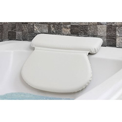 Epica 2X-Thick Luxury Spa Bath Pillow, SuperGrip...